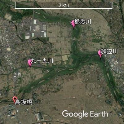 辺川 氾濫 地図 越