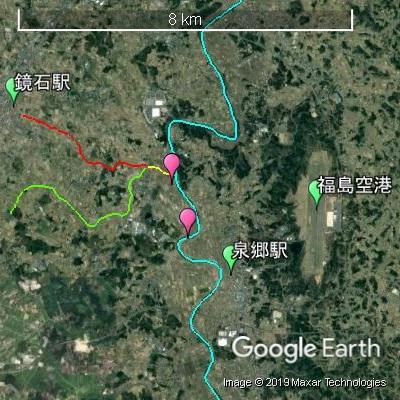 鏡石町成田地区