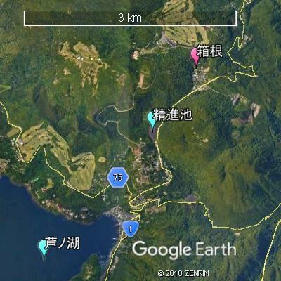 アメダスの観測地点・箱根