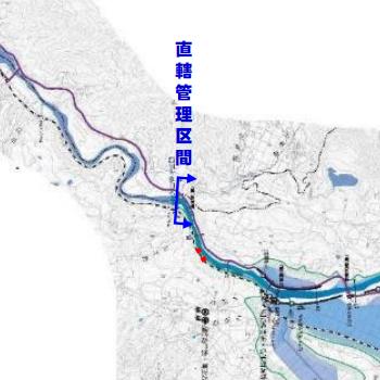 北陸地方整備局「千曲川直轄管理区間の主な被災状況」