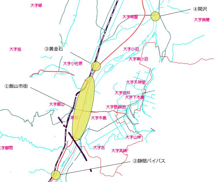 台風19号関連災害経過報告>飯山市浸水箇所