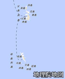 父島列島と母島列島