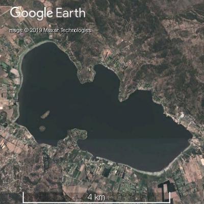 2013年12月のアクレオ湖