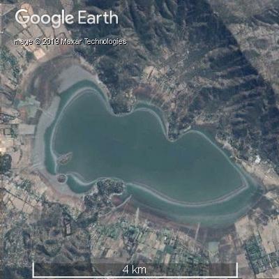 2015年3月のアクレオ湖