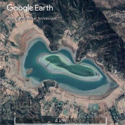 2018年2月のアクレオ湖