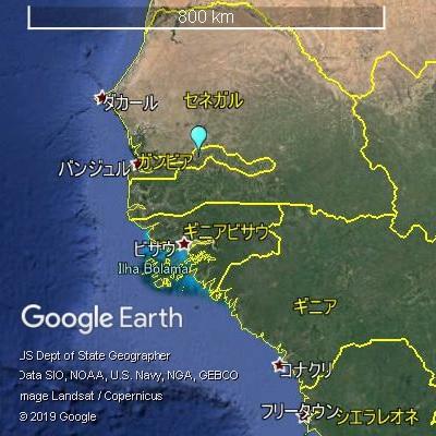 ガンビアとセネガル