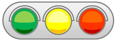 ヨコ型信号機