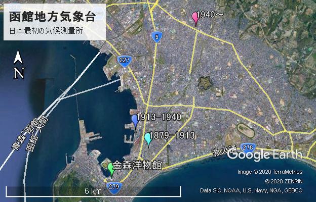 函館地方気象台