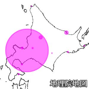 北海道の新型コロナ感染者マップ