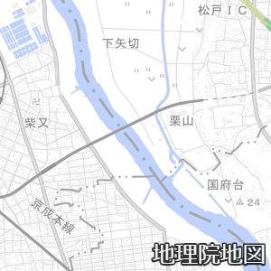 松戸市と江戸川区は江戸川で隣接