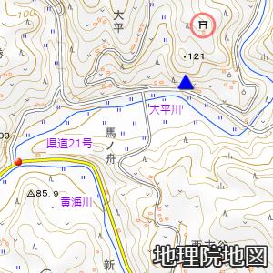 一関市藤沢町の天神橋