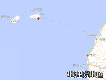 焼尻島と天売島
