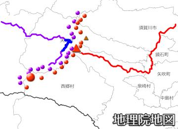 隈戸川と鶴沼川