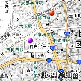大阪駅(梅田駅)前