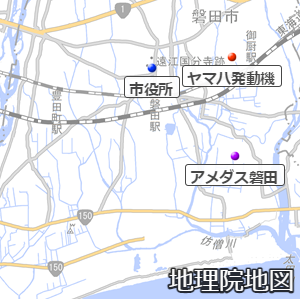 磐田市付近