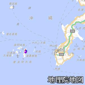 渡嘉敷島付近