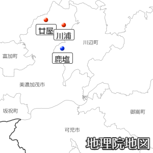 岐阜の三和村