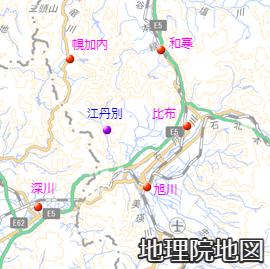 江丹別周辺