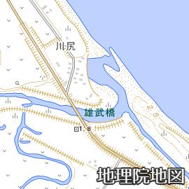 雄武川河口