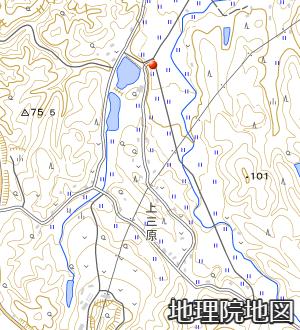 アメダス須佐の周囲の地形