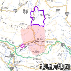西軽井沢と北軽井沢