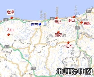7月7日の降水量上位地点