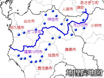 川内川水系