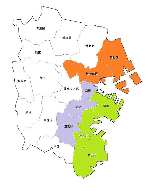 神奈川1~3区