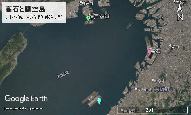 高石と関空島