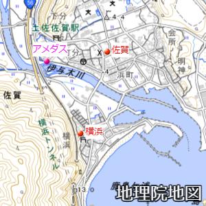 旧・佐賀町の避難タワー