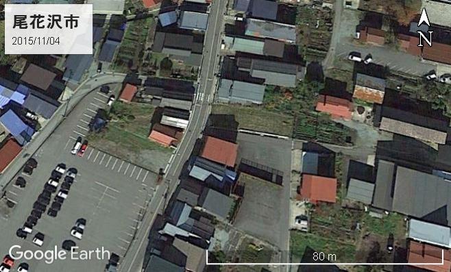 尾花沢市の向かい同士理容店
